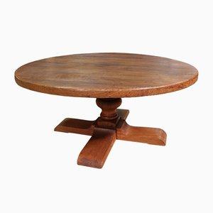 Tavolo basso rotondo, anni '60