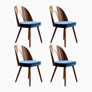 Chaises de Salle à Manger Mid-Century par Antonin Šuman pour Tatra, 1960s, Set de 4