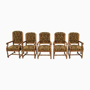 Northern European Armchairs, 1960s, Set of 5