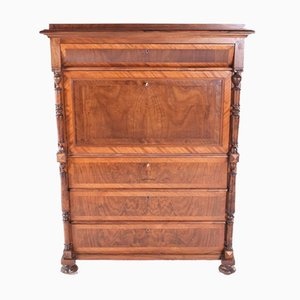 19th Century Secretaire Abattant