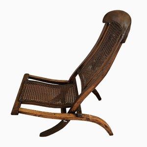 Klappbarer antiker Bergere Sessel