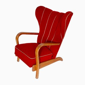 Wingback Lounge Chair, 1950s