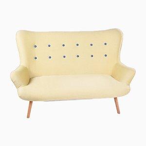Vintage Sofa mit Gestell aus Buche