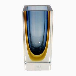 Italienische Vase aus Muranoglas von Venini, 1960er