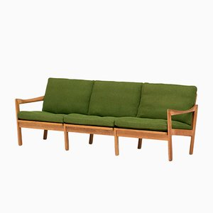 Teak 3-Seater Sofa by Illum Wikkelso for Niels Eilersen, 1960s