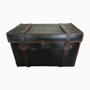Large Antique Luggage Car Trunk by Brian Finnigan for Finnigans