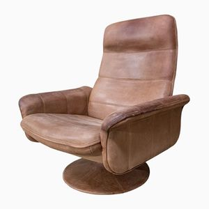 Vintage Leather DS50 Revolving Chair from De Sede