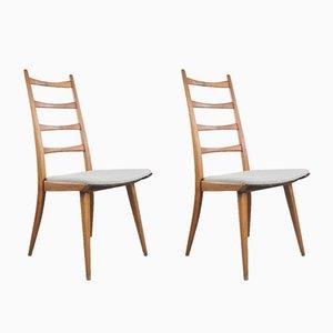 Dänische Esszimmerstühle, 1970er, 2er Set