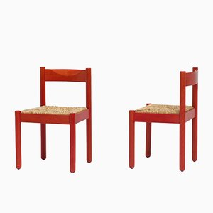 Carimate Chairs by Vico Magistretti for Cassina, 1960s, Set of 4