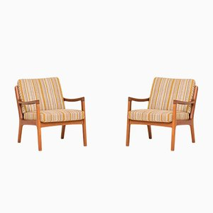 Model 166 Chairs by Ole Wanscher for France & Son, 1950s, Set of 2