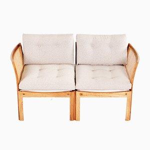 Canapé 2 Places Plexus par Illum Wikkelso pour CFC, 1950s
