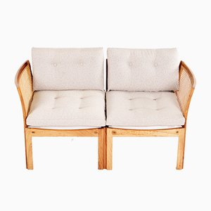 Plexus Two-Seater Sofa by Illum Wikkelso for CFC, 1950s