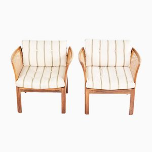 Plexus Armchairs by Illum Wikkelso for CFC, 1950s, Set of 2