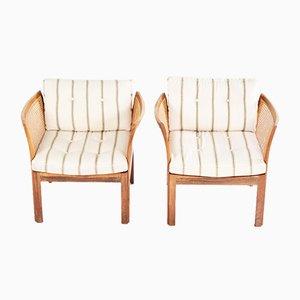Plexus Sessel von Illum Wikkelso für CFC, 1950er, 2er Set