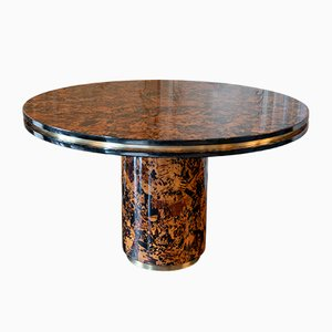 Vintage Burl Table by Willy Rizzo, 1960s