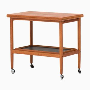 Danish Teak Trolley Table, 1960s