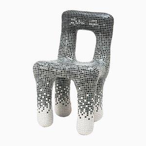 Chaise Gradient Tiles par Philipp Aduatz, 2018