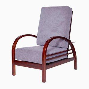 Verstellbarer tschechoslowakischer Sessel von Thonet, 1922