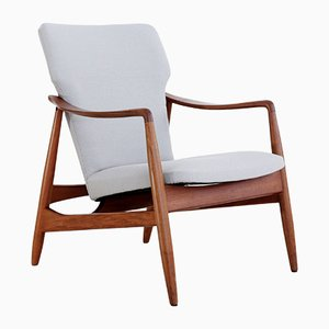 Danish Lounge Chair by Johannes Andersen for R. Skovgaard Jensen, 1950s