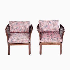 Vintage Plexus Sessel von Illum Wikkelso für CFC, 2er Set