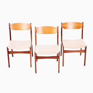 Chaises de Salle à Manger Vintage, Danemark, Set de 6