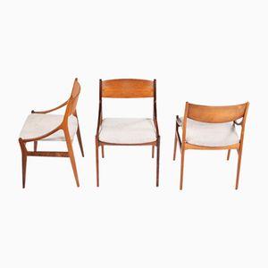 Vintage Dining Chairs by Vestervig Eriksen for Brdr. Tromborg Eftf., Set of 6