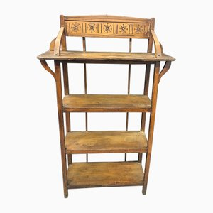 Vintage Maple Bookcase