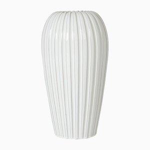 Vase de Plancher Vintage en Faïence par Vicke Lindstrand