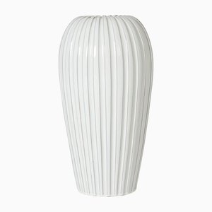 Vintage Earthenware Floor Vase by Vicke Lindstrand
