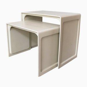 Tables d'Appoint Modèle 621 Vintage par Dieter Rams pour Vitsoe, 1960s, Set de 2