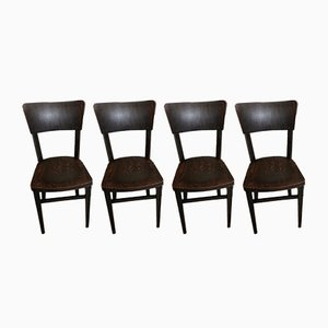 Vintage Dining Chairs from Michael Thonet, Set of 4
