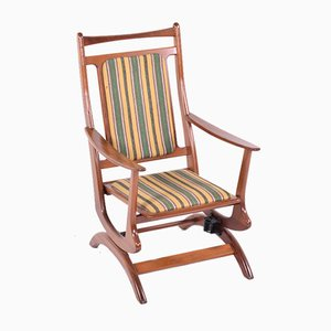 Danish Teak Rocking Chair, 1950s