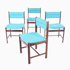 Chaises de Salle à Manger en Palissandre, Danemark, 1960s, Set de 4
