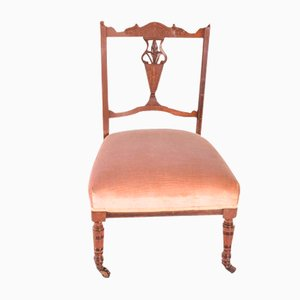 English Rosewood Lady Chair, 1920s