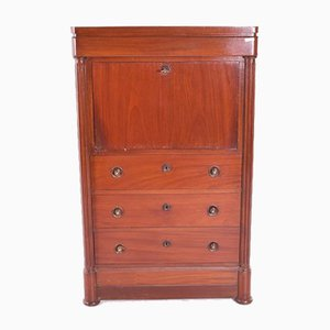Antique English Mahogany Secretaire