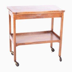 Tavolo da gioco antico in quercia