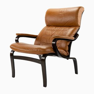Danish Mid-Century Armchair by Bruno Mathsson, 1970s