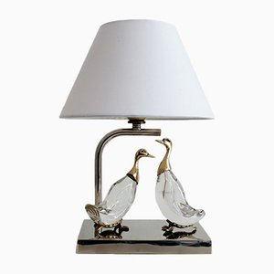 French Duck Table Lamp, 1960s