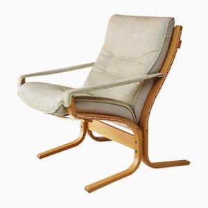 Dänischer Mid-Century Sessel mit Gestell aus Bugholz