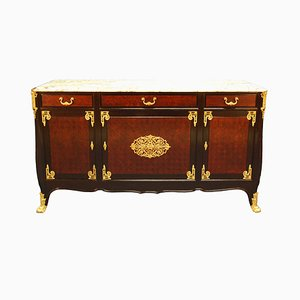 Antique Louis XIV Sideboard with Claw Feet from Mercier Frères Décoration