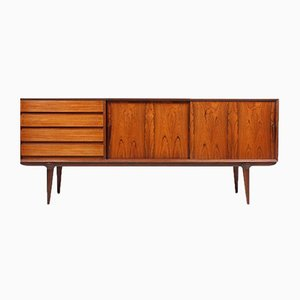 Vintage Danish Rosewood Sideboard by Gunni Omann for Omann Jun, 1960s