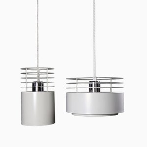 Mid-Century Hydra Pendant Lamp by Johannes Hammerborg for Fog & Mørup, Set of 2