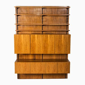 Vintage Walnut Shelving System from Sparrings, 1960s