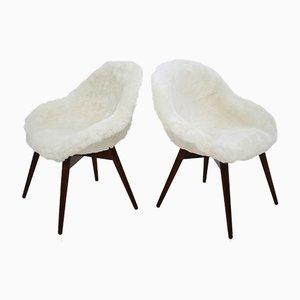 Chaises d'Appoint par Miroslav Navratil, 1960s, Set de 2