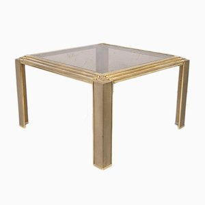 Brutalist Italian Cast Brass Coffee Table, 1970s