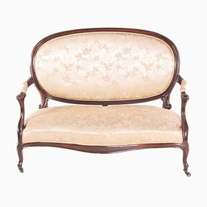 Canapé Style Louis XV Antique en Palissandre