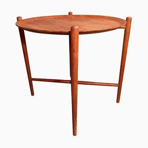 Mid-Century Tisch aus Teak mit Serviertablett