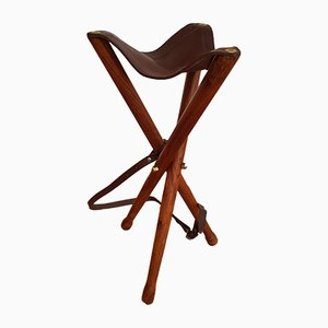Danish Teak Hunting Chair, 1960s
