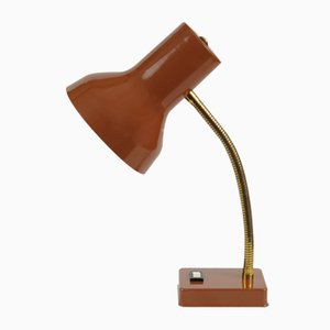 Vintage Brown Desk Lamp from Pfaffle Leuchten