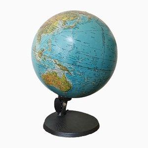 Beleuchteter dänischer Vintage Globus